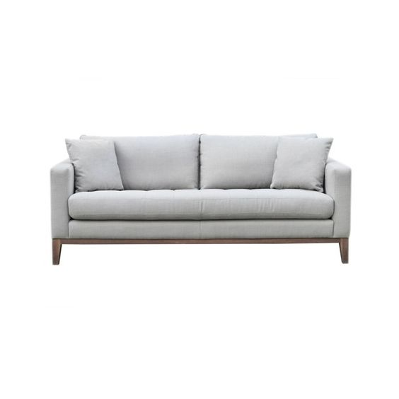 Marley 3 Seat Sofa (9.370 NOK) ❤ liked on Polyvore featuring home, furniture, sofas, 3 seater sofa, 3 seat couch and three seat sofa