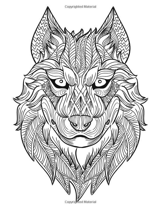 17 best images about designs coloring animals coloring Mandala coloring book for adults volume 3