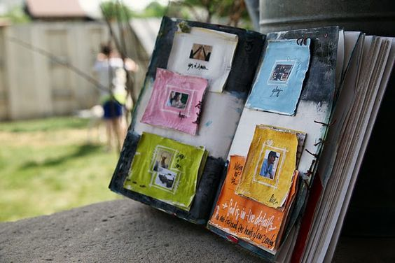 Such a gorgeous idea for a #scrapbook - one of ideas that I'm definitely going to try out! =) #DIY #Crafts