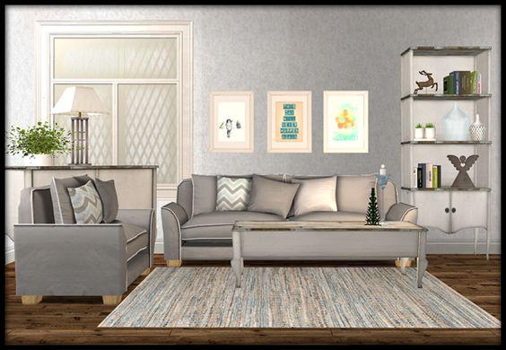 our sims 2 living room set Harmonious Color Palette