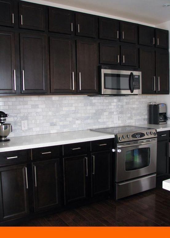 Painted Kitchen Cabinets Diy And Kitchen Design Karachi Prices Tip 527597428 Trendy Kitchen Backsplash Kitchen Backsplash Designs Dark Brown Kitchen Cabinets