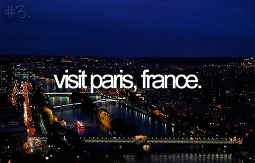 Hopefully with a guy. ;) City of lights and love.