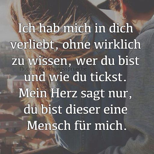 The In Dich Ich Habe Text Mich Verliebt unrefined