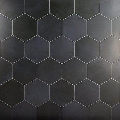 langston hexagon porcelain field tile
