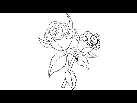 How To Draw A Flower Step By Step Easy Way Way رسم وردة رسم زهرة خطوة بخطوة طريقة سهلة Youtube Girl Drawing Drawings Flowers