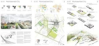 Graduation poster Urbanism  (Europan 2011)