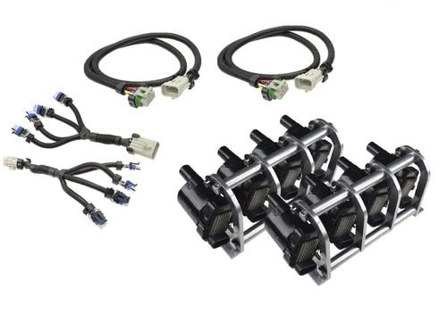 Coil Pack Relocation Kits for LS1 LS6 LSX Stainless Steel Bracket 36/'/' Harness