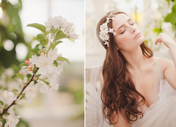 Jannie Baltzer 2014 collection ∼ Elegant Couture Headpieces For Brides
