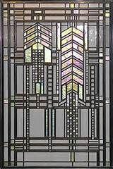 Frank Lloyd Wright Stained Art Glass Windows