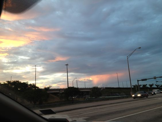The bokeh sky