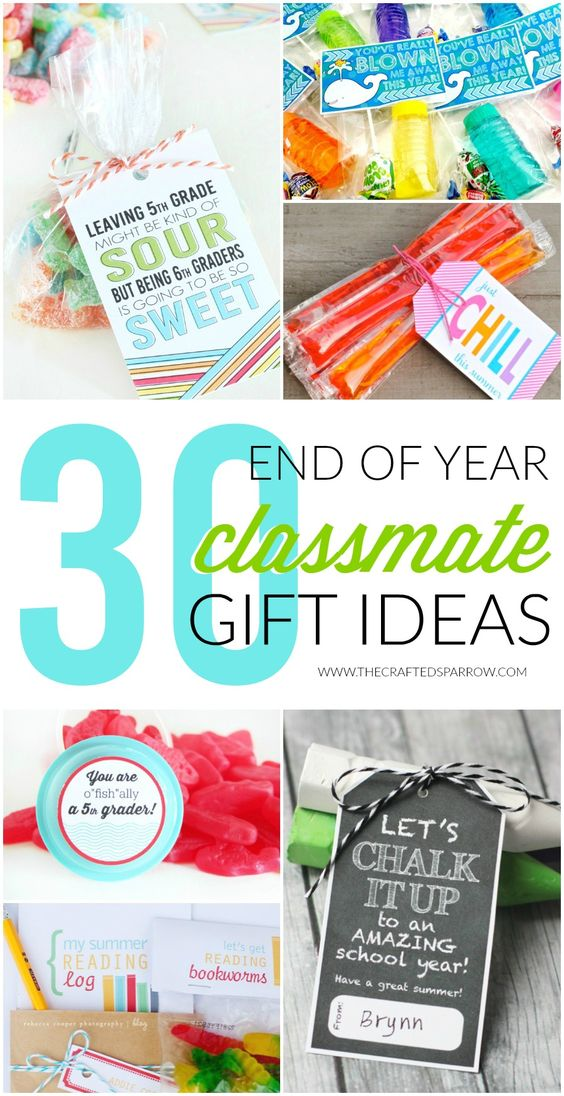 30 End of Year Class Gift Ideas: