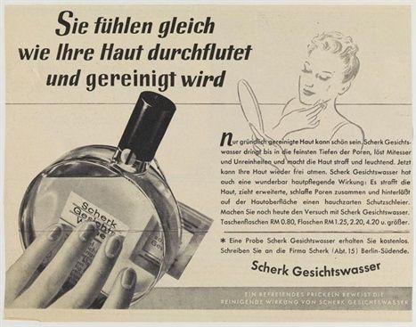 Scherk Gesichtswasser  «Du bist bei den Parfümören angekommen» - und dort blieb Fritz Scherk zeitlebens, wie eine Ausstellung im Jüdischen Museum in Berlin zeigt.   kultiversum