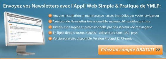 Logiciel d'emailing & marketing par e-mail - YMLP