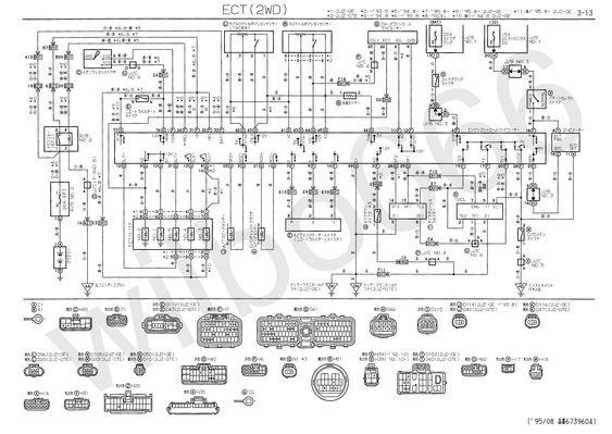 Toyota Wiring Diagrams Car Engine Diagrams Electrical Wiring Diagram Electrical Diagram Diagram