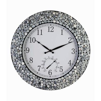 outdoor clock indoor outdoor and home depot on pinterest