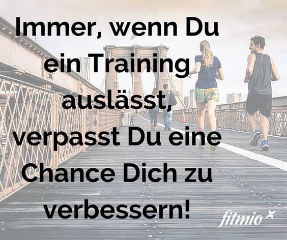 Kennt Ihr das auch? Jedes Mal, wenn man nicht zum Training gegangen ist oder wenn man nicht laufen gegangen ist kommt früher oder später das schlechte Gewissen... und das auch noch mit Recht. Hmm.. warum wissen wir es nicht schon vorher besser?