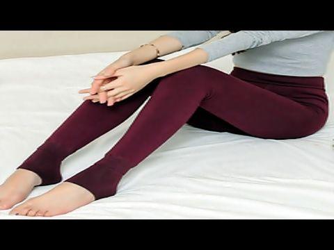 Cara Membuat Celana Legging Anda Sendiri Youtube Celana Kaus Kaki Kain