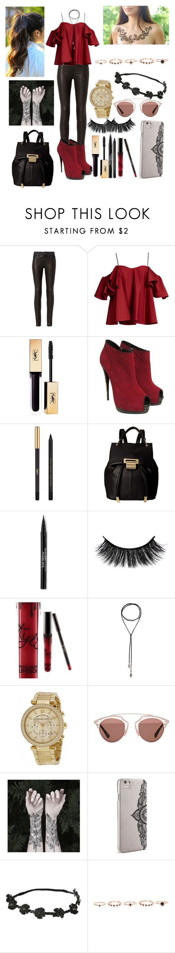 """""""New Layout?!? (DESCRIPTION)"""" by codychristiangirl ❤ liked on Polyvore featuring rag & bone, Anna October, Giuseppe Zanotti, Yves Saint Laurent, Ivanka Trump, Trish McEvoy, Michael Kors, Christian Dior, Nature Girl and Nanette Lepore"""