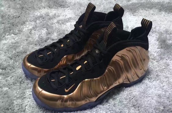 New Images Of The Nike Air Foamposite One Copper 2017: