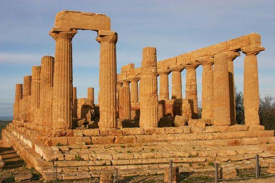 Temple d'Héra - Agrigente, Italie.