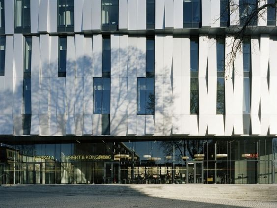 Henning Larsen Architects | Uppsala Concert and Congress Hall