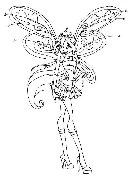 Resultado De Imagem Para Winx Colorir Enchantix Goruntuler Ile