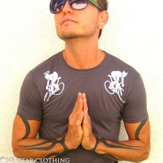 Fixed Gear TShirt  Angels and Devils  Super by onegearclothing, $21.00