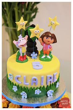 5 year old little girl birthday cakes - Google Search