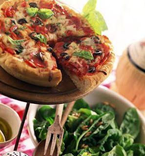 Recette de Pizza au thon