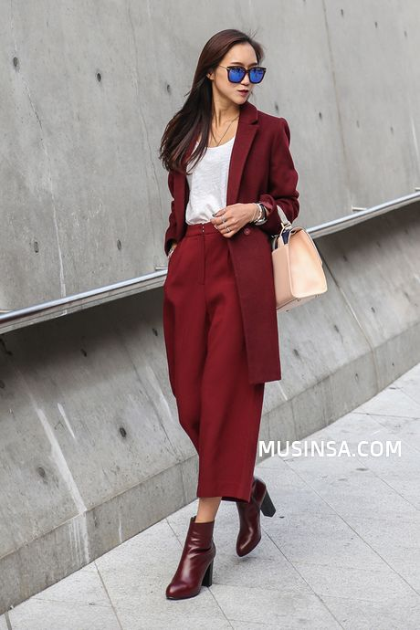 Korean Street Fashion October 2015      Location: Seoul                                                                         ...