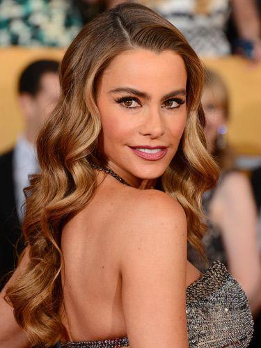 Sofia Vergara hair and makeup Screen Actors Guild Awards 2014 - Cosmopolitan.co.uk