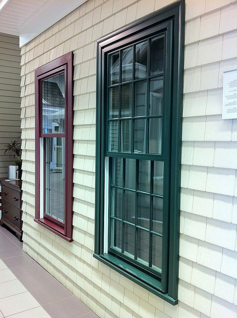 Harvey Windows Love These Colors With The Light Siding