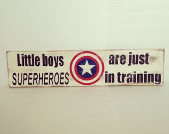 Superhero Sign Vintage Pallet Wood Sign by TheCreativePallet