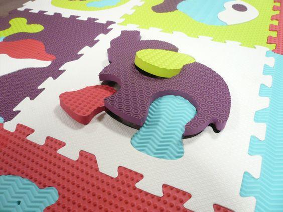 Dalles animaux dallesmousse tapis mousse imagination jouets jeux enfan - Tapis mousse enfants ...