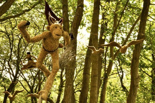 Sculptures by Virginie MOREL.