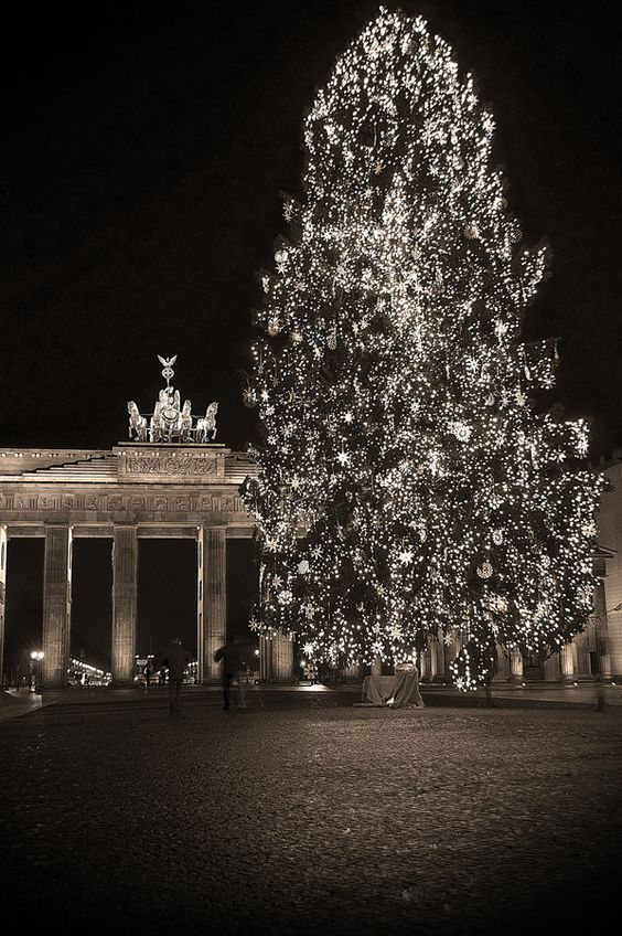 Christmas tree|Berlin Brandenburger Tor