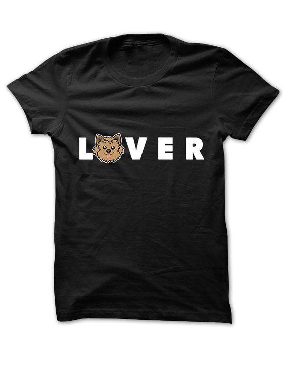 """""""Yorkie Lover"""" Women's Basic T-Shirt"""