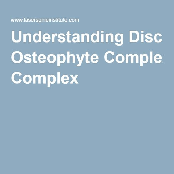 When should you seek treatment for an osteophyte?