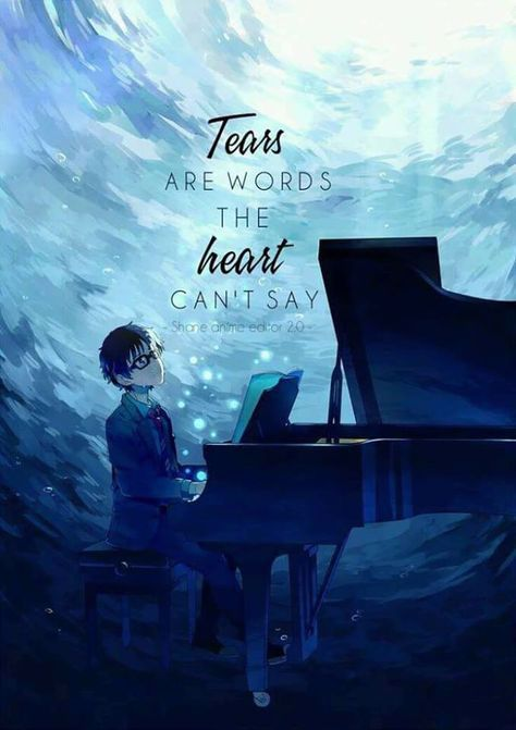 Anime Your Lie In April C Owner Anime Love Quotes Anime Quotes Anime Qoutes Anime wallpaper your lie in april
