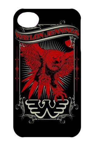 Waylon Jennings Eagle Phone Case - Waylon Jennings Merch Co.