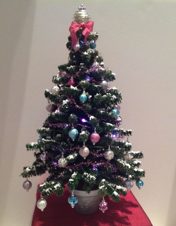 7inch miniature Christmas Tree by Lucille Locket