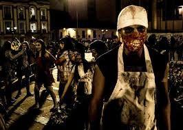 marcha #zombie #Bogota