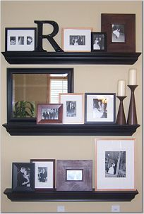 wall shelves for pictures