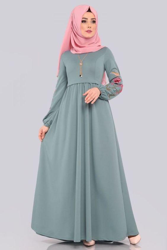 Blog muslim yang berisi informasi tutorial hijab, gambar kartun muslim dan model baju muslim.