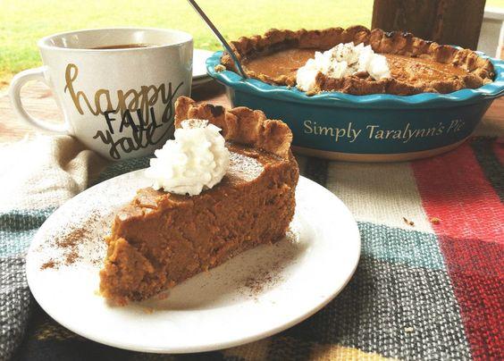 A Healthier Pumpkin Pie Recipe