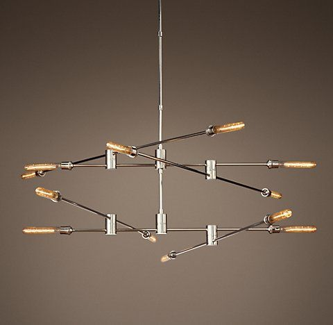 Rh S Kinetic Chandelier Collection