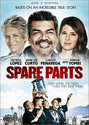 Added in DVD to PG-13 shelf Spare Parts Lions Gate http://www.amazon.com/dp/B00URJFYEG/ref=cm_sw_r_pi_dp_7.mtvb1PYFTTQ