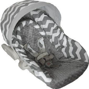 Hey, I found this really awesome Etsy listing at https://www.etsy.com/listing/187831340/gray-chevron-baby-car-seat-cover-bundle