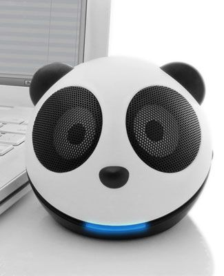 Panda speakers! How do I not own these already?: