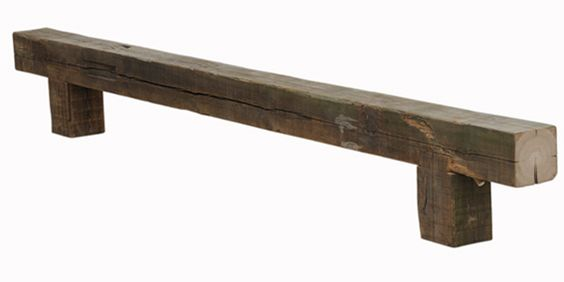 piet hein eek / one big beam bench
